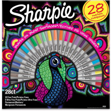 SHARPIE Komplekts Peacock Fine 28 gab. (2058158)