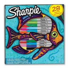 SHARPIE Komplekts Fish Fine 28 gab. (2061125)