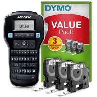 DYMO LabelManager 160 Etiķešu Printeris (S0946340) + 3 pcs. D1 12mm tapes