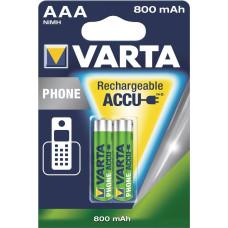 Akumulator AAA R03 VARTA PHONE T398 do telefonów DECT 1,2V 800mAh NiMH 2B