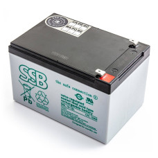 Akumulator AGM SSB SBL 12-12L do UPS APC, Ever, Fideltronik, Eaton Powerware