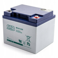Akumulator AGM SSB SBL 50-12HR 12V 40Ah Mocowy