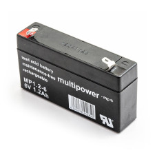 Akumulator Multipower MP1.2-6 6V 1,2Ah VDs AGM bezobsłogowy
