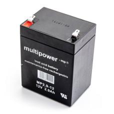 Akumulator Multipower MP2.9-12 12V 2.9Ah AGM bezobsłogowy