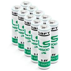 10 x Bateria litowa Saft LS14500 3.6V Li-SOCL2 AA, SL-360, SL760, TL-2100, TL-5104, TL5903