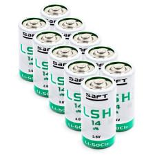 10 x Bateria litowa Saft LSH14 3,6V Li-SOCL2 - TLH-5920, SW-C01/FF, ER26500M, SL-770, SL-2770