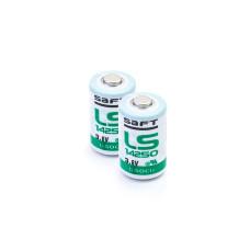 2 x Bateria litowa Saft LS14250, LS 14250 3.6V Li-SOCl2 1/2AA