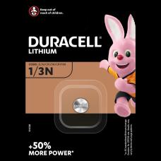 1 x Bateria litowa Duracell CR1/3N, 1/3N, 2L76, DL1/3N, CR11108, 2LR76