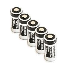5 x Bateria litowa Panasonic 3V CR123A, DL123A, EL123A, CR17345, CR17350, K123LA