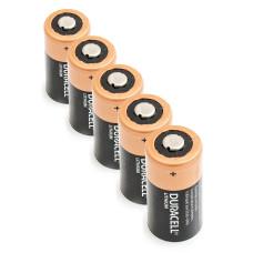 5 x Litija Akumulators Duracell 3V DL123A, K123LA, CR123, CR123A, EL123AP, EL123, CR17345