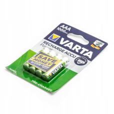 Akumulatorki VARTA R03 AAA 1000mAh NiMH 4BL