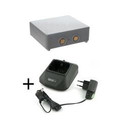 Zestaw ładowarka 12-230V do Htronic Mini + bateria HE900, 68300600, 68300900, 68300940, 68300990, RHE3614KG, KH550025