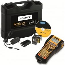 DYMO Rhino 5200 Etiķešu Printeris (plastikāta somā) + 1 gab. Rhino lente (S0841430)