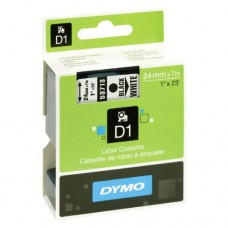 DYMO D1 Lente 24mm x 7m / melns uz baltas (53713 / S0720930)