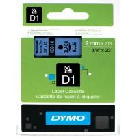 DYMO D1 Lente 9mm x 7m / melns uz zilas (40916 / S0720710)