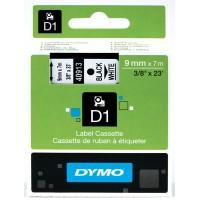 DYMO D1 Lente 9mm x 7m / melns uz baltas (40913 / S0720680)
