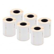 DYMO Polipropilēna Etiķetes Juvelierizstrādājumiem 10 x 50mm / Komplekts (11351 / S0722360) - 6 gab.